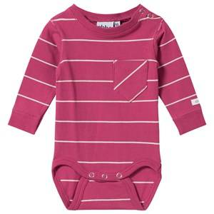 eBBe Kids Unisex Childrens Clothes All in ones Pink Aston Baby Body Autumn Rose/Off White Stripe