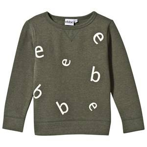 eBBe Kids Boys Childrens Clothes Jumpers and knitwear Green Znow Letter College Sweater Soft Nature Green