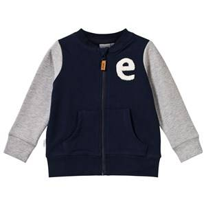 eBBe Kids Unisex Childrens Clothes Jumpers and knitwear Blue Zack Sweat Jacket Winter Navy
