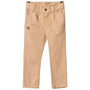 eBBe Kids Boys Childrens Clothes Bottoms Beige Jeff Chinos Golden Beige