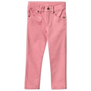 eBBe Kids Unisex Childrens Clothes Bottoms Pink Jackie Slim Fit Pant Dusty Pink
