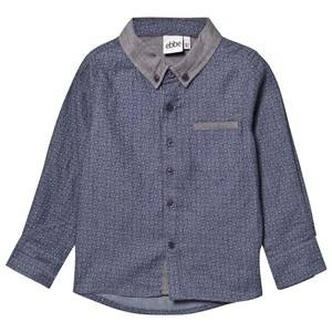 eBBe Kids Boys Childrens Clothes Tops Blue Roger Shirt Blue Stamp