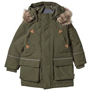 eBBe Kids Unisex Coats and jackets Green Oneil Winter Parkas Mossgreen