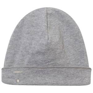 Gray Label Unisex Childrens Clothes Headwear Grey Baby Beanie Grey Melange