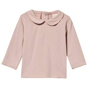 Gray Label Girls Childrens Clothes Tops Pink Baby Collar Tee Vintage Pink