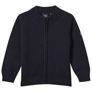 Petit by Sofie Schnoor Boys Childrens Clothes Jumpers and knitwear Blue Cardigan Dark Blue
