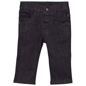 Karl Lagerfeld Kids Unisex Childrens Clothes Bottoms Black Denim Trousers Denim Black