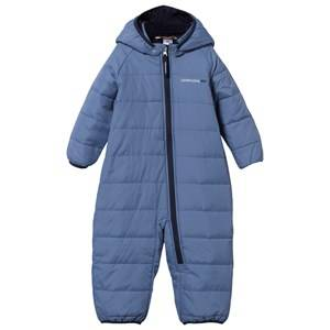 Didriksons Unisex Childrens Clothes Coveralls Blue Vasmi Baby Coverall Coldsmoke
