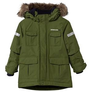 Didriksons Unisex Childrens Clothes Coats and jackets Green Nokosi Kid