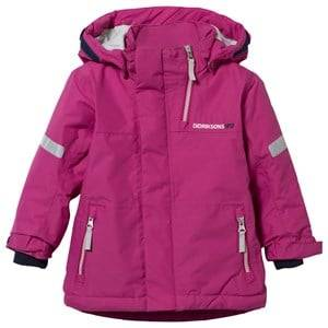 Didriksons Girls Childrens Clothes Coats and jackets Purple Rovda Kid