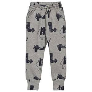 Soft Gallery Unisex Childrens Clothes Bottoms Grey Playtime Jules Sweat Pants Stone Melange