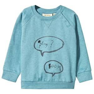 Soft Gallery Unisex Childrens Clothes Jumpers and knitwear Blue Baby Alexi Sweatshirt Cameo Blue