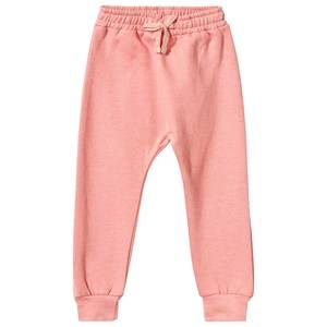 Soft Gallery Unisex Childrens Clothes Bottoms Pink Meo Sweat Pants Coral Melange