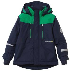Didriksons Unisex Childrens Clothes Coats and jackets Navy Hamres Kid