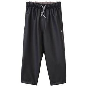 Didriksons Unisex Childrens Clothes Bottoms Black Midjeman Kid