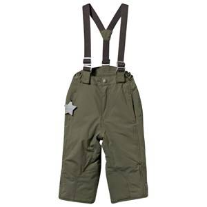 Mini A Ture Unisex Childrens Clothes Bottoms Green Witte K Snow Pants Deep green