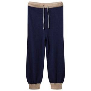 Mini A Ture Unisex Childrens Clothes Bottoms Multi Tano B Pants Grisaille Blue