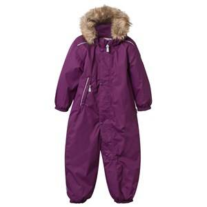Reima Unisex Childrens Clothes Coveralls Pink Reimatec® Overall Gotland Beetroot