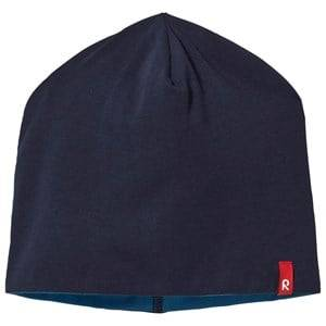 Reima Unisex Childrens Clothes Headwear Navy Trappa Beanie Navy