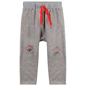 Kenzo Girls Childrens Clothes Bottoms Grey Alyss Pants Marl Grey