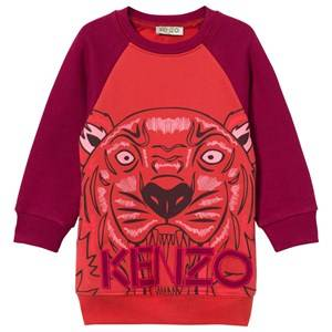 Kenzo Girls Childrens Clothes Dresses Red Andrea Dress Fire