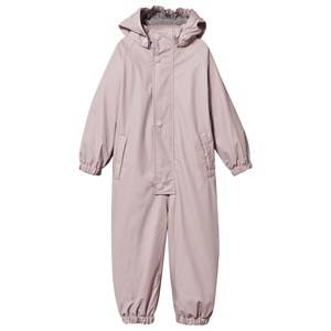 Mini A Ture Girls Childrens Clothes Clothing sets Pink Lined Rain Suit Violet Ice