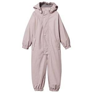 Mini A Ture Girls Clothing sets Lined Rain Suit Violet Ice