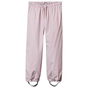 Mini A Ture Girls Childrens Clothes Bottoms Pink Robin Lined Rain Pants Violet Ice