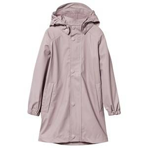 Mini A Ture Girls Childrens Clothes Coats and jackets Pink Riley Rain Coat Violet Ice