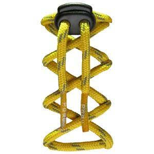 Pogu Unisex Childrens Clothes Footwear accessories Yellow Reflecting Laces Yellow