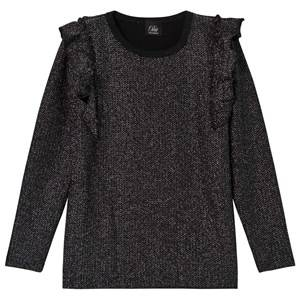 Petit by Sofie Schnoor Girls Childrens Clothes Tops Silver Blouse Silver