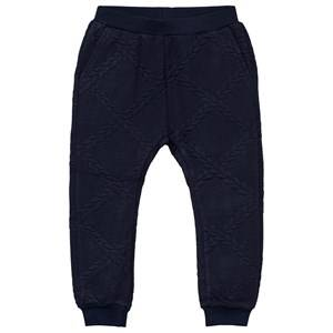 Petit by Sofie Schnoor Unisex Childrens Clothes Bottoms Blue Pants Dark Blue