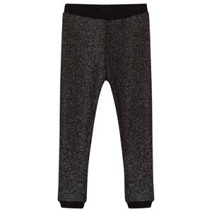 Petit by Sofie Schnoor Unisex Childrens Clothes Bottoms Silver Leggings Silver