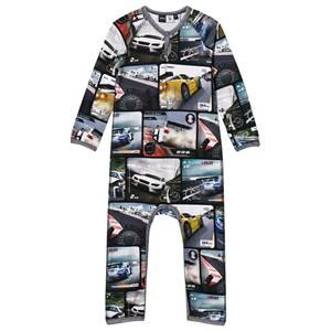 Molo Boys All in ones Multi Fleming Baby One-Piece Video Race