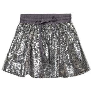 Kiss How To Kiss A Frog Girls Skirts Silver Sparkle Skirt Silver