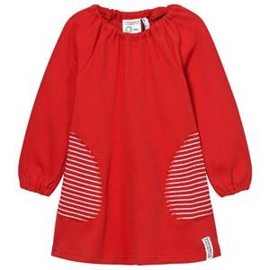 Geggamoja Girls Dresses Red Singoalla Dress Red