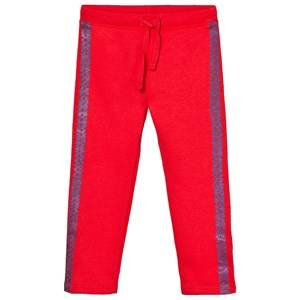 United Colors of Benetton Girls Bottoms Red Sweatpants Coral Red