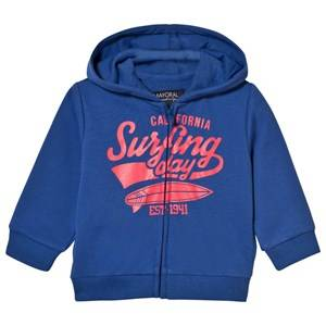 Mayoral Boys Jumpers and knitwear Navy Navy Surf Print Hoody