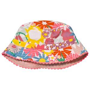 Stella McCartney Kids Girls Headwear Pink Dolores Hat Pink Flower Print
