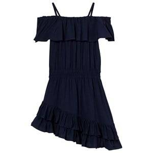 Little Remix Girls Dresses Navy Rion Ruffle Dress Navy