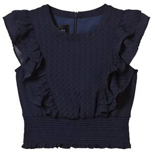 Little Remix Girls Tops Navy Jr Enigma Top Navy