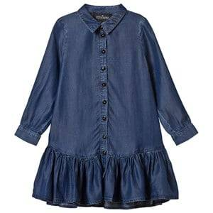 Little Remix Girls Dresses Blue Jr Gwen Shirtdress Medium Denim