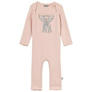 Wheat Girls All in ones Pink Jumpsuit Print Frill Powder