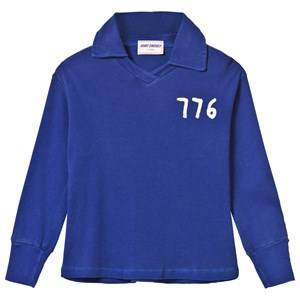 Bobo Choses Boys Tops Blue 776 Football Polo Mazarine Blue
