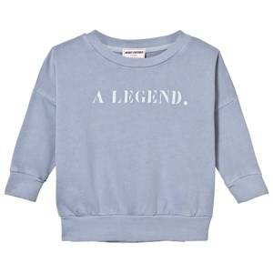 Bobo Choses Boys Jumpers and knitwear Blue B.C. Team Sweatshirt Cloud Blue