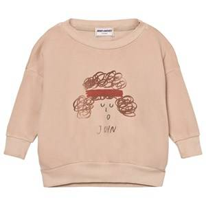 Bobo Choses Boys Jumpers and knitwear Pink John Sweatshirt Off Rose
