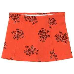 Bobo Choses Girls Skirts Red 1968 Tennis Skirt Red Clay