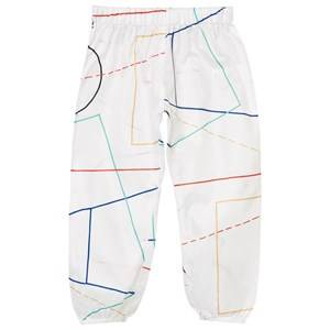 Bobo Choses Boys Bottoms White Waterproof Trousers Court Off White