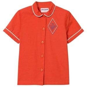 Bobo Choses Girls Tops Red Legend Blouse Red Clay
