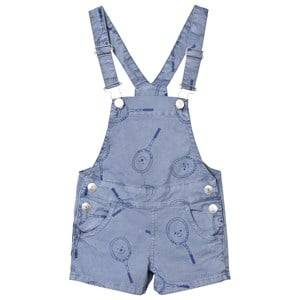Bobo Choses Boys All in ones Blue Tennis Overalls Cloud Blue